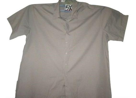 Camisas Gris De Trabajo Tipo Dickies Talla 5x Extragrandes
