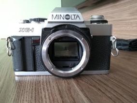 Câmera Minolta Xg-1(n) + Flash Minolta Auto 200x
