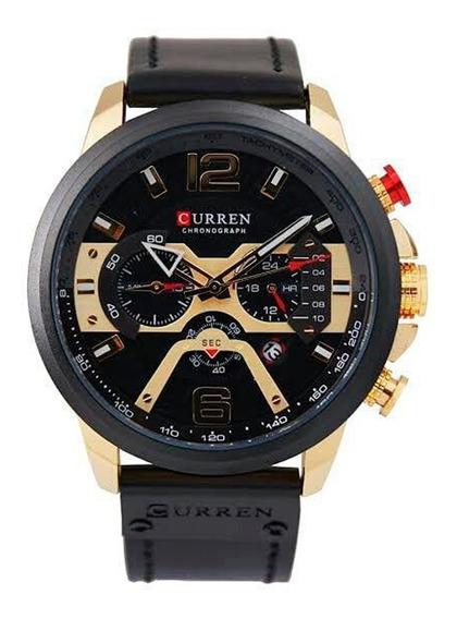 Relógio De Luxo Curren 8329 Masculino Original