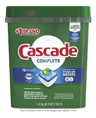 Detergente Lavavajillas Cascade Comple - kg a $1536