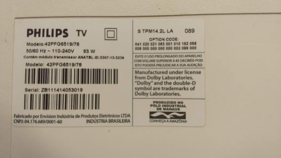 Kit Completo Barras De Led Tv Philips 42pfg6519 (usado)
