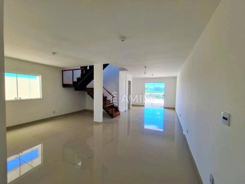 Casa Com 3 Dormitórios À Venda, 3 Quartos, 1 Suíte, 2 Vagas, 154 M². - Ca0737