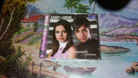 Cd Sandy E Junior As Quatro Estações Ano 1999 Original