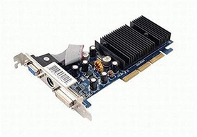 Geforce 6200 Agp 8x 256 Mb Dd2 Targeta De Video Low Profile