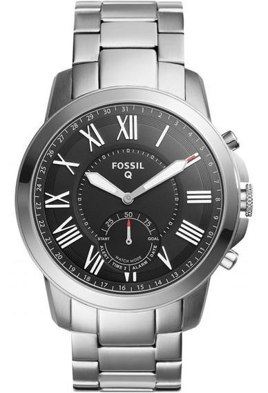 Reloj Fossil Original Metálico Hibrido Smartwatch Ftw1158