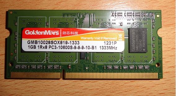 Memoria Ram Ddr3 1gb Para Laptop Compatible Canaima