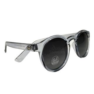 Vulk Ruga Anteojos De Sol Gafas Polarizados ! Negro Redondo