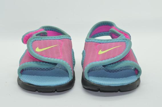 Sandalias Nike Sunray Adjust 4 - Niña Rosa - Leer Publicacio