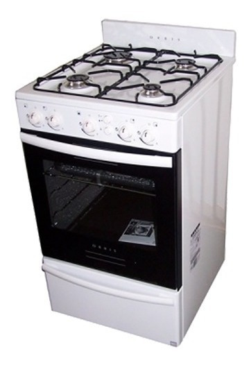 Cocina 4 Hornallas Orbis Blanca 50 Cm 558 Bc2 C/valv