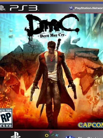 Ps3 Dmc Devil May Cry - Mídia Digital