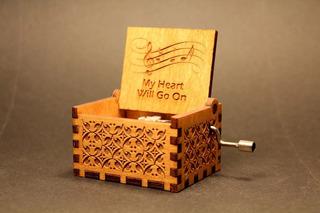Caja Musical Titanic Mi Corazon Seguira Detalles De Madera