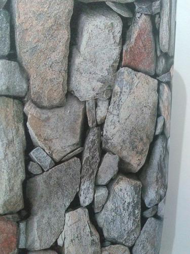 Papel De Parede Textura Stone Wall