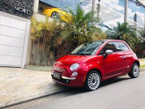 Fiat 500 1.4 Lounge Air 16v Gasolina 2p Automatico