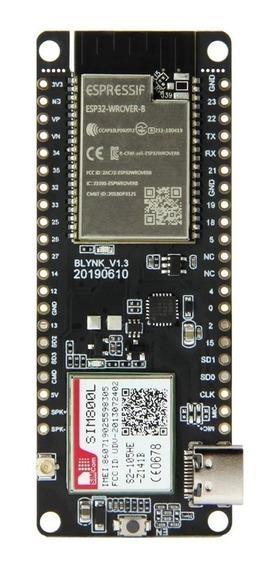 Esp32 + Sim800l Módulo Módulo Sem Fio Antena Gprs