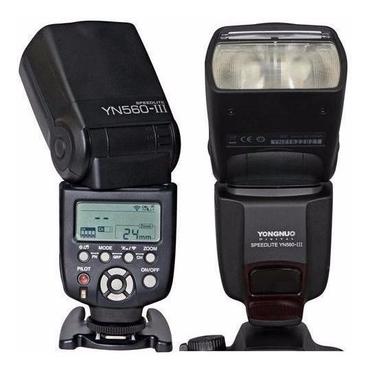Flash Yongnuo Speedlite Yn-560 Lll (p/ Canon Nikon)+difusor
