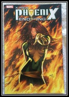 X-men Phoenix Endsong Saga Completa 1-5 Marvel Cómics Inglés