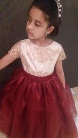 Vestido De Dama Ou Festa Infantil Para Casamento