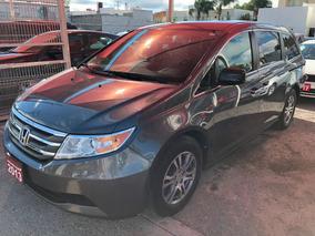 Honda Odyssey Exl Piel Dvd 2013 Credito Recibo Auto Financi