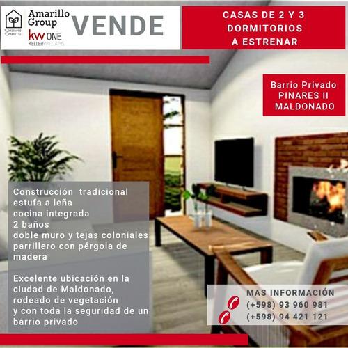 Amarillo Group Vende Casas A Estrenar En Barrio Pinares Ii