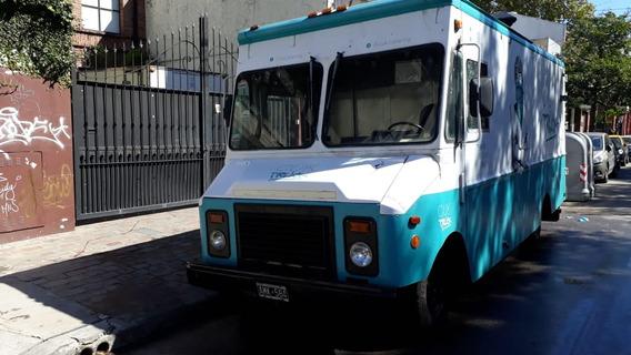 Food Truck Grumman Olson A Gas Impecable Interiores Inox