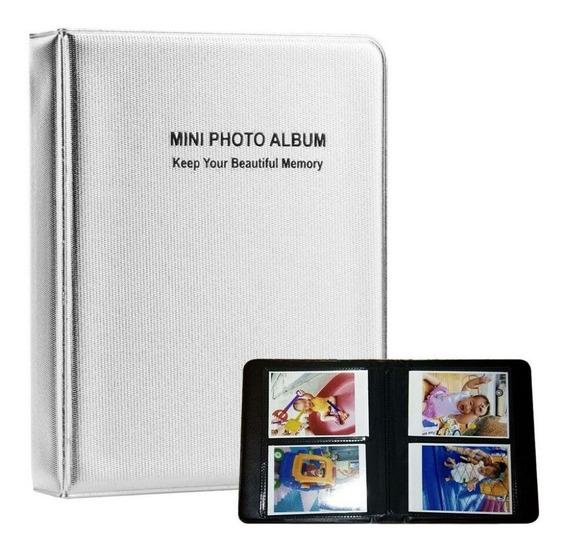 Promoção! Álbum Polaroide Instax Mini 7 8 9 Para 64 Fotos