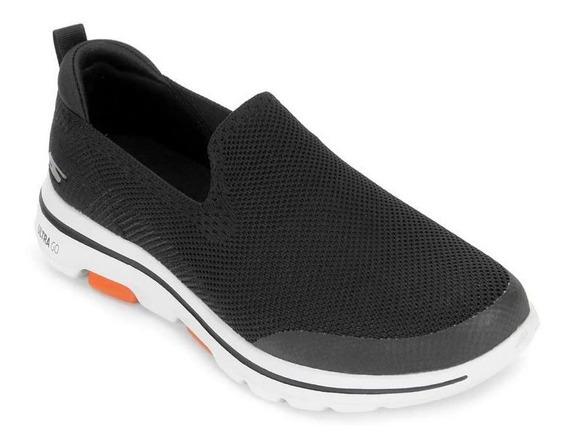 Tênis Skechers Go Walk 5 Prized Preto Original C/nota Fiscal