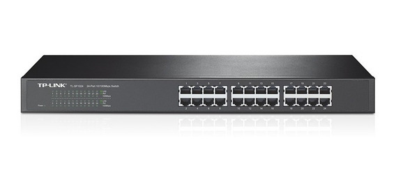 Switch Rackeable Tl-sf1024 10/100 24 Bocas / Puertos Rack