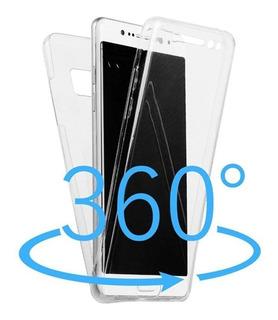 Capa 360° Samsung Galaxy S8 5.8 G950 Transparente Leve Top