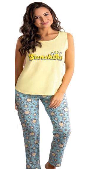 Pijama Sunshine Pantalon Largo Promesse 10480