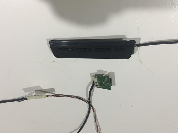 Teclado E Sensor Do Remoto Tv Semp Toshiba Dl3970(a)f