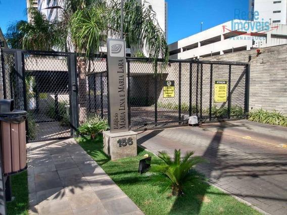Apartamento Com 3 Dormitórios Para Alugar, 65 M² Por R$ 1.660,00/mês - Madalena - Recife/pe - Ap10125