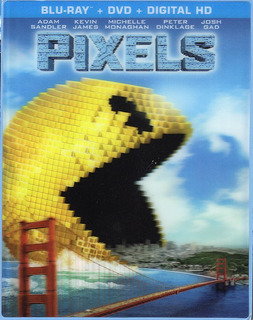Blu-ray + Dvd Pixels / Pixeles / Cover Lenticular