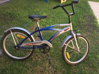 Bicicleta 20 Niño Azul Legnano Sorrento Cross Bmx Shimano