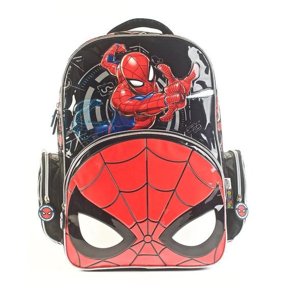 Mochila Escolar Infantil Jardin Wabro Spiderman Original