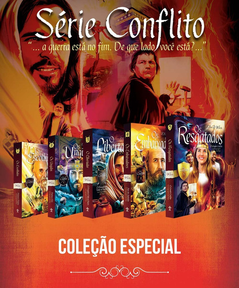 Série O Conflito- Ellen White/// 5 Livtos/// Lacrado