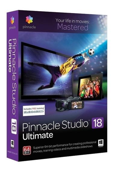 Pinnacle Studio 18 Ultimate Captura E Edição De Vídeo - O...