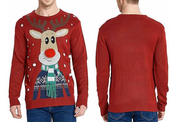 Suéter Navideño Reno, Suéter Navidad Hombre