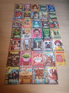 Lote De Revistas Mundo Estranho
