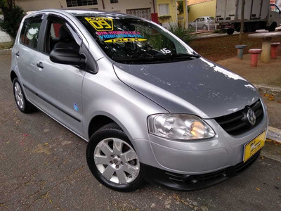 Vw Fox Route 1.6 Flex 2009 Prata Dh Ve Te Som E Rodas