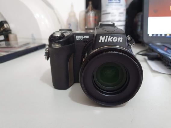 Camera Nikon Coolpix 5700 Para Retirada De Peças No Estado