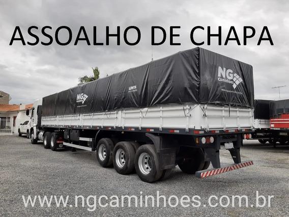 Carreta Graneleira 2013 Assoalho De Chapa Facchini