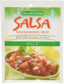 Mezcla De Salsa Suave De Concord Foods, Bolsas De 1,06 Onzas
