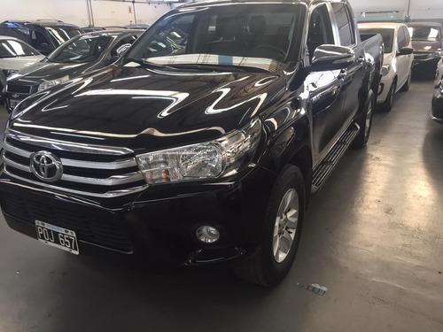 Toyota Hilux 2.8 Cd Srv Pack 177cv 4x2 2016