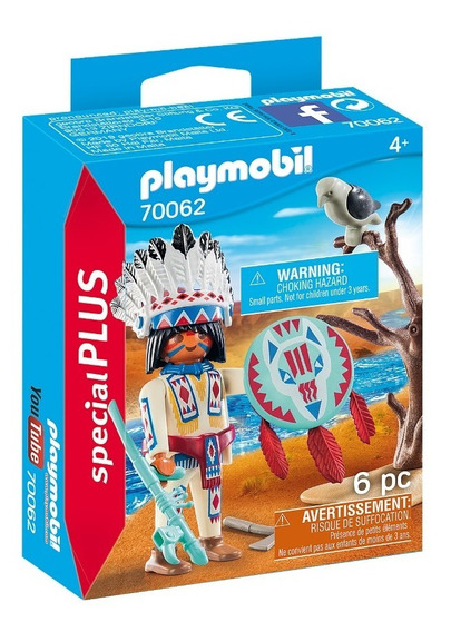 Playmobil 70062 Indío Special Plus Geobra