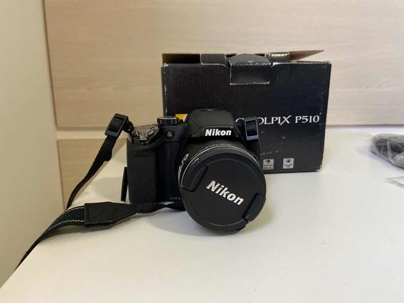 Câmera Nikon P510 - Comece No Mundo Da Fotografia