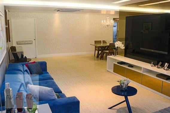 Apartamento Com 3 Dormitórios À Venda, 170 M² Por R$ 890.000 - Aldeota - Fortaleza/ce - Ap0681
