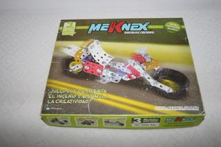 Meknex Set Construcción Metálico Herramientas 127 Ps +6 Años