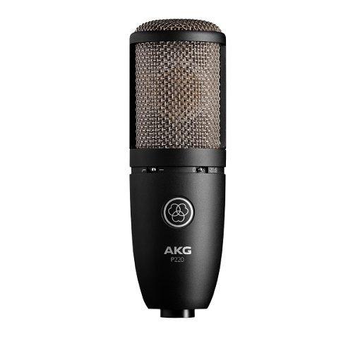 Microfone Akg P220 Condensador Profissional | Original | Nfe