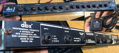 Imagen 1 de 1 de Compresor Gate Dbx Project 1 - 266 - U.s.a.