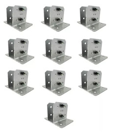 Kit 10 Peças Suporte Alumínio Big Haste Industrial 25x25 Cm